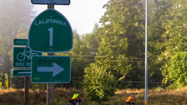 US 101 and CA 1 roadsigns