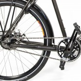 A view of the chain and unbroken frame on Matt Co-Motion Pangea Rohloff