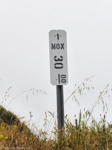 Milepost 30, California State Highwy 1, Monterrey County